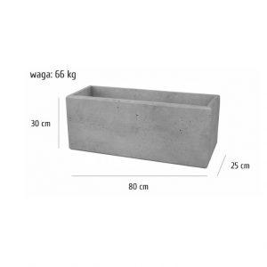 80x25x30sklep 300x300 - Bloczek ogrodzeniowy 80x25x30 Beton architektoniczny SLABB