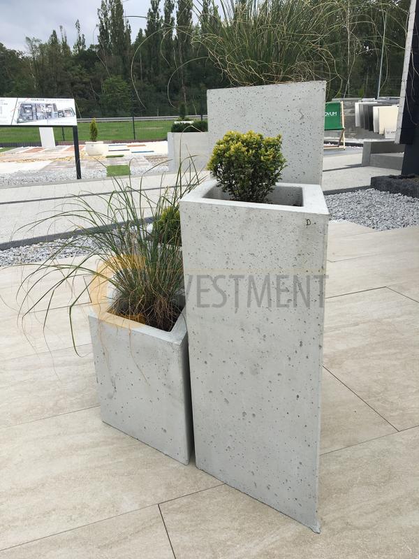 14A 600x800 - Donica betonowa ogrodowa Grande 150x150x100 Beton architektoniczny