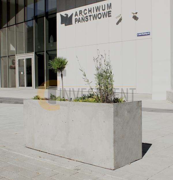 15A 600x622 - Donica betonowa ogrodowa Cassetto 140x120x100 Beton architektoniczny