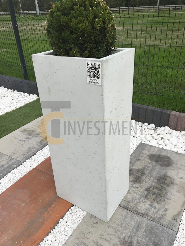 16A 600x800 - Donica betonowa ogrodowa Diamante Beton architektoniczny