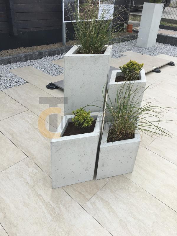 17A 600x800 - Donica betonowa ogrodowa Diamante Beton architektoniczny