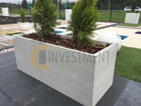 2A 600x450 - Donica betonowa ogrodowa Cubo 60x60x60 Beton architektoniczny