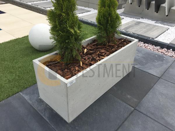 6A copy 600x450 - Donica betonowa ogrodowa Cubo 60x60x60 Beton architektoniczny