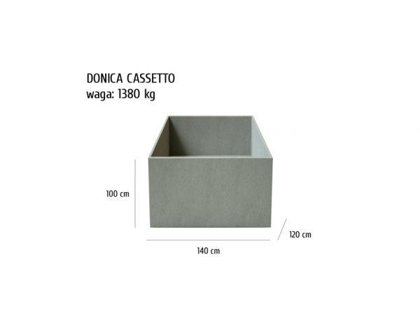 CASSETTO sklep 600x464 - Donica betonowa ogrodowa Cassetto 140x120x100 Beton architektoniczny