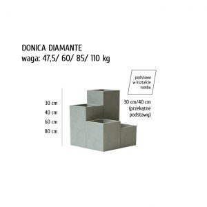 DIAMANTE sklep 300x300 - Donica betonowa ogrodowa Diamante Beton architektoniczny