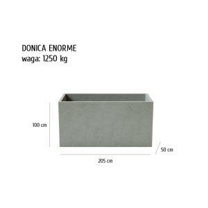 ENORME sklep 300x300 - Donica betonowa ogrodowa Enorme 205x50x100 Beton architektoniczny