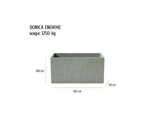 ENORME sklep 600x464 - Donica betonowa ogrodowa Enorme 205x50x100 Beton architektoniczny