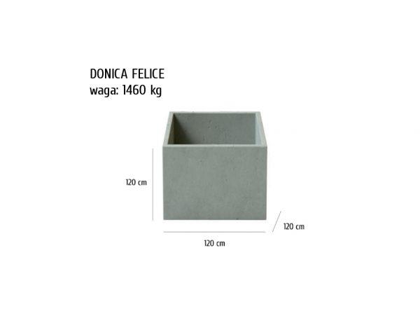 Felice sklep 1 600x464 - Donica betonowa ogrodowa Felice 120x120x120 Beton architektoniczny