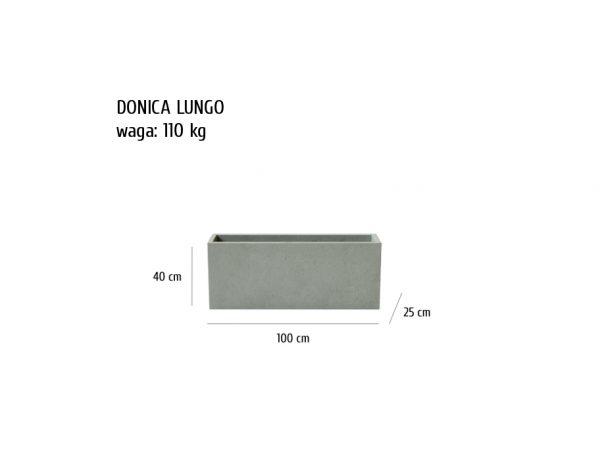 LUNGO sklep 600x464 - Donica betonowa ogrodowa Lungo 100x25x40 Beton architektoniczny