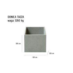 TAZZA sklep 300x300 - Donica betonowa ogrodowa Tazza 120x120x100 Beton architektoniczny
