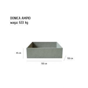ampio sklep 300x300 - Donica betonowa ogrodowa Ampio 150x150x45 Beton architektoniczny
