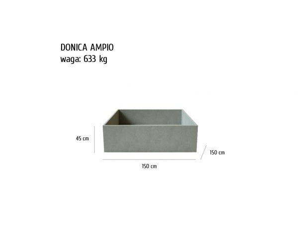 ampio sklep 600x464 - Donica betonowa ogrodowa Ampio 150x150x45 Beton architektoniczny