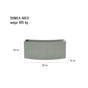 arco sklep 300x300 - Donica betonowa ogrodowa Arco 210x50x80 Beton architektoniczny