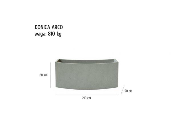 arco sklep 600x464 - Donica betonowa ogrodowa Arco 210x50x80 Beton architektoniczny