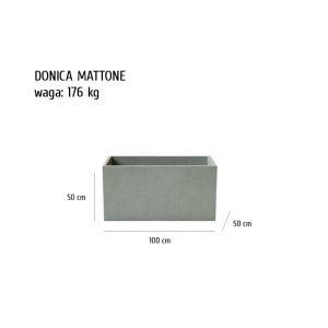 MATTONE sklep 300x300 - Donica betonowa ogrodowa Mattone 100x50x50 Beton architektoniczny