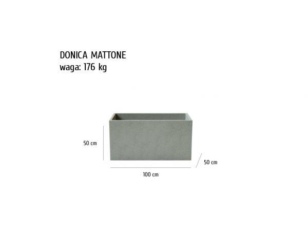 MATTONE sklep 600x464 - Donica betonowa ogrodowa Mattone 100x50x50 Beton architektoniczny