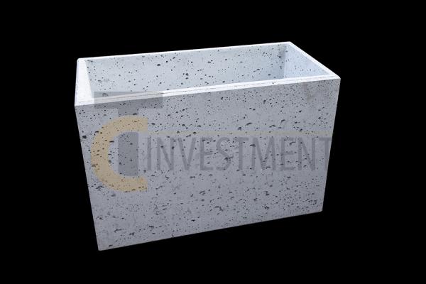 Donica 60x30x40 2 copy 600x400 - Donica betonowa ogrodowa 60x30x40 Beton architektoniczny