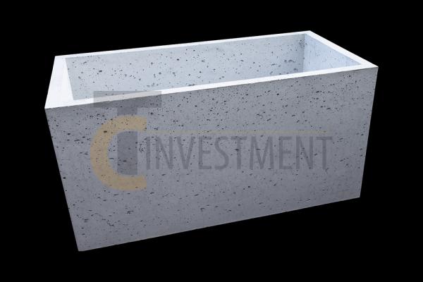 Donica 80x40x40 szary 1m copy 600x400 - Donica betonowa ogrodowa 80x40x40 Beton architektoniczny