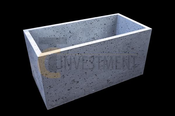 Donica 80x40x40antracyt 1 copy 600x400 - Donica betonowa ogrodowa 80x40x40 Beton architektoniczny
