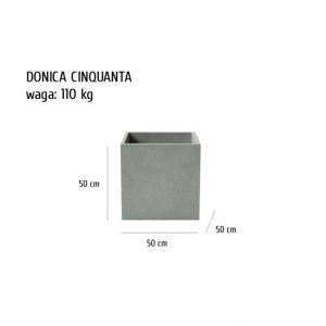 CINQUANTA sklep 300x300 - Donica betonowa ogrodowa Cinquanta 50x50x50 Beton architektoniczny
