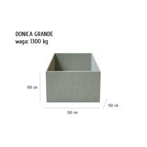 GRANDE sklep 300x300 - Donica betonowa ogrodowa Grande 150x150x100 Beton architektoniczny