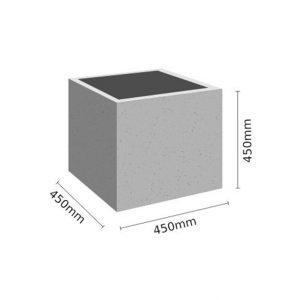 Wymiar Donica 45x45x45 sklep 300x300 - Donica betonowa ogrodowa 45x45x45 Beton architektoniczny