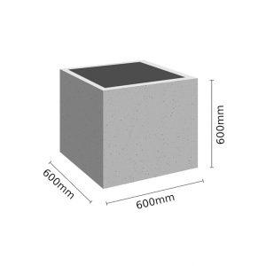 Wymiar Donica 60x60x60 sklep 300x300 - Donica betonowa ogrodowa 60x60x60 Beton architektoniczny
