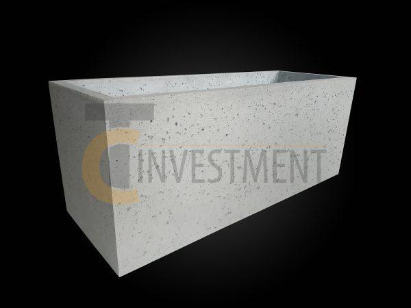 Donica 100x37x40 1 600x450 - Donica betonowa ogrodowa 100x37x40 Beton architektoniczny